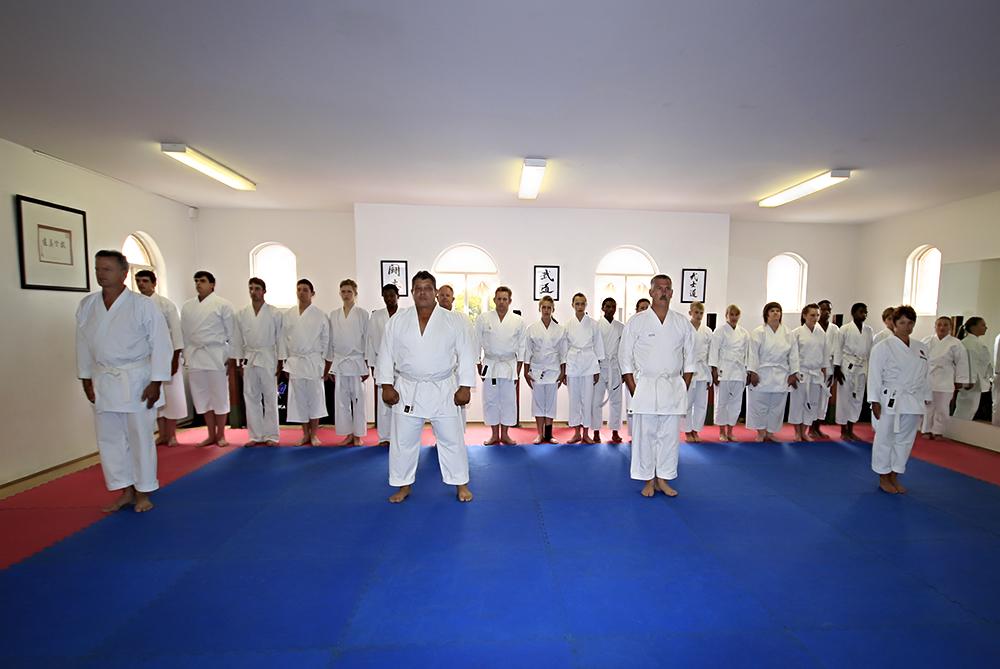 JSKA South Africa Italy Team Training, Centurion Dojo, 01 Mar 2014