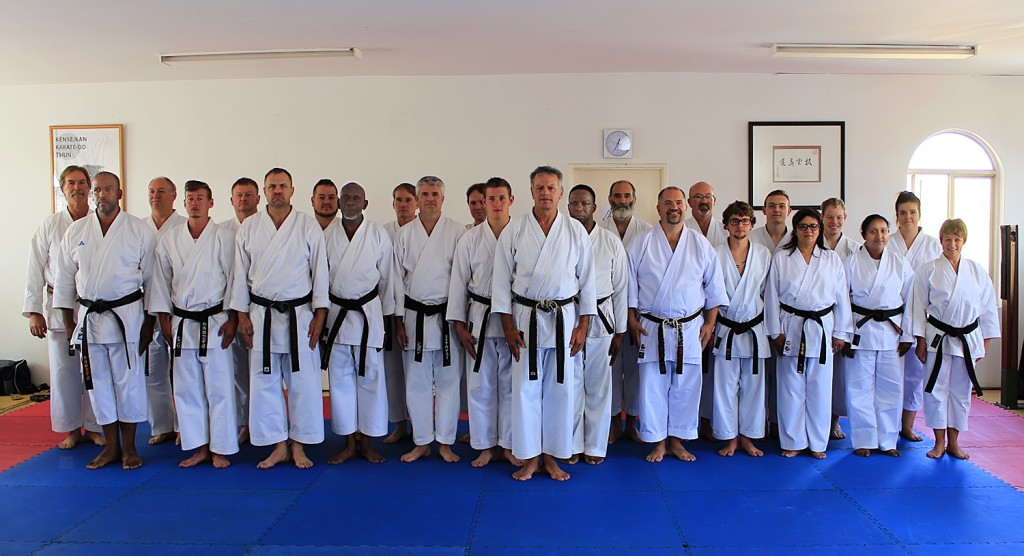 Judges and tournament official course, 23 May 2015, Centurion Dojo